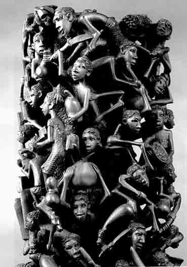 Revista De Artes Arte Africano Talla Makonde
